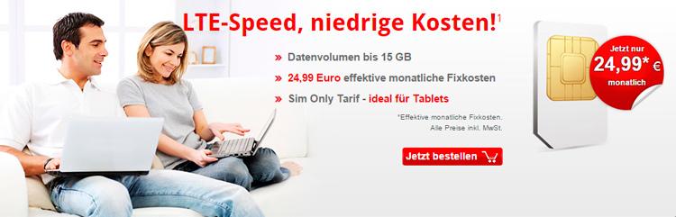 Lterouter 15 Gb LTE Daten