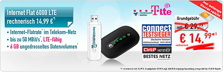 handybude Internet-Flat LTE 6000