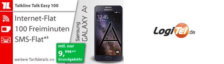 Samsung Galaxy A3 mit Talkline-Tarif