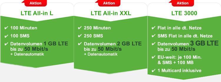 maXXim LTE Aktion