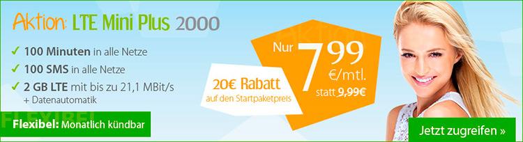winSIM LTE mini plus 2000