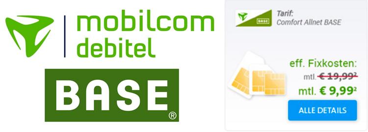 mobilcom-debitel BASE SIM-Only Tarif