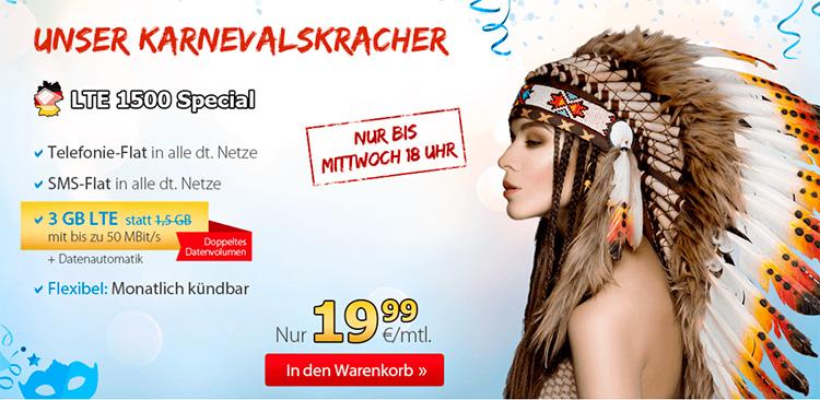 Deutschlandsim - Karneval LTE - 1500 Special