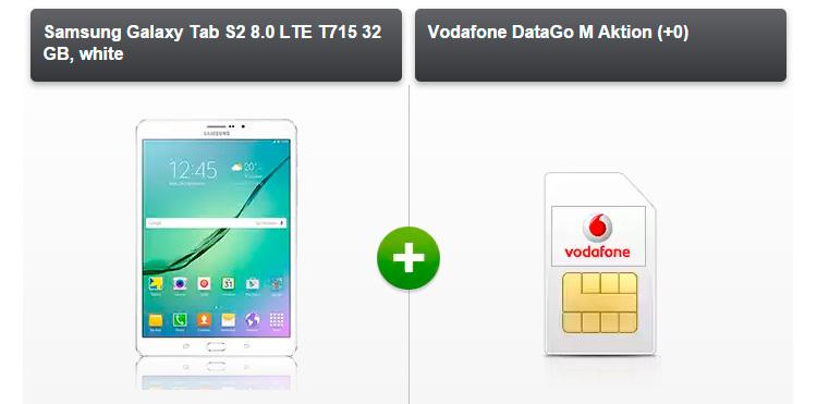 Modeo - Samsung Galaxy Tab S2 + 3 GB Daten-Flat