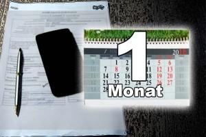 Postpaid - 1 Monat