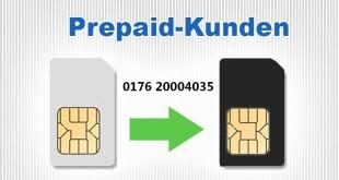 Rufnummernportierung Prepaid-Kunden
